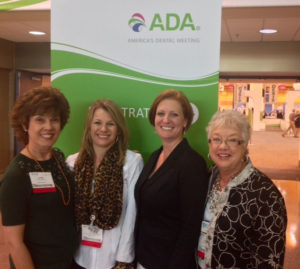 From left to right: Linda Harvey, Julie Young, Angela Clayton and Linda Drevenstedt.